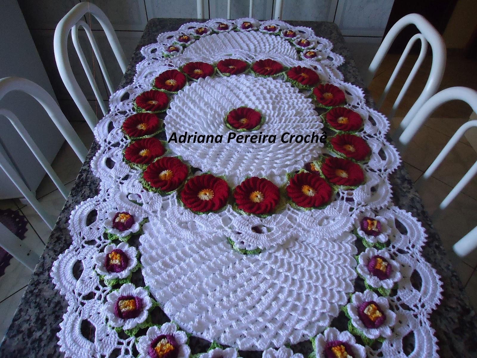Centro de mesa tapete flor de maracuja tapete car - Tapetes para mesa ...