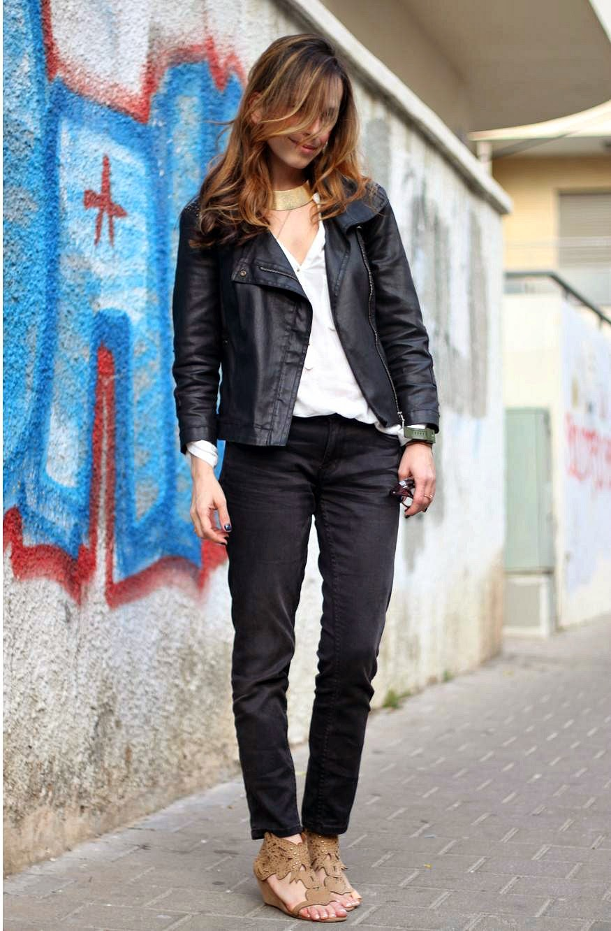 birthday, outfit, effortless, MFW, fashionweek, streetstyle, urban, lookoftheday, treat.yo.self, rag&bone,jeans, moto jacket,fashionblog, אופנהתלאביב, בלוגאופנה, אופנה, טלי נחשו