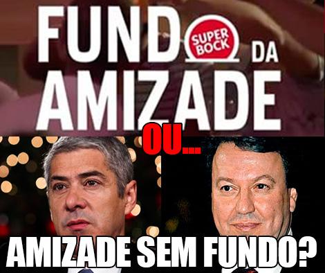 José Sócrates e Santos Silva - Fundo da amizade vs Amizade sem fundo
