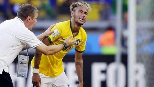 شكوك حول مشاركة نيمار في ربع النهائي ضد كولومبيا