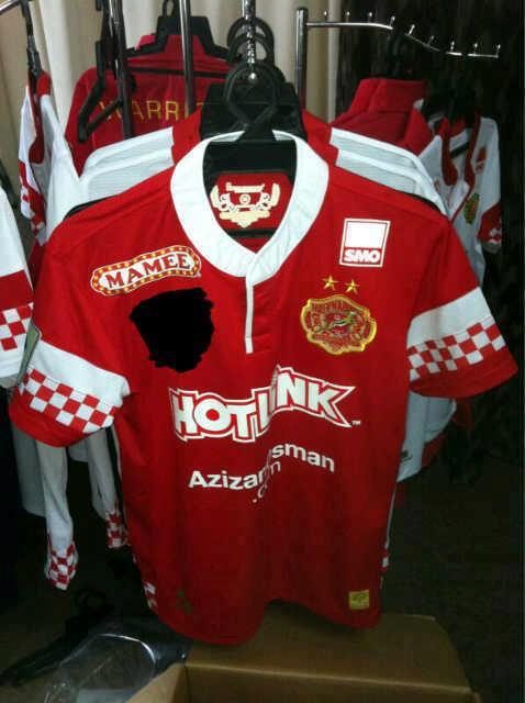 Jersey Rasmi Kelantan 2013