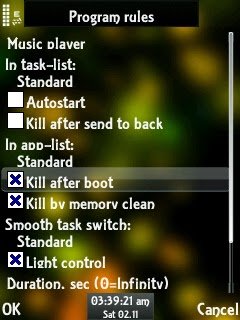 Disable Autostart Music Player N73 ME