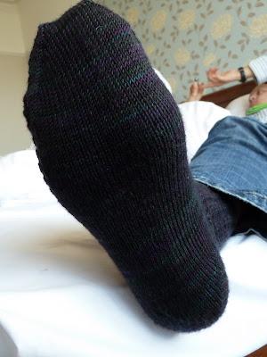 Waffle Rib Sock sole