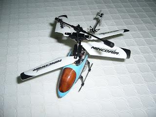 helicóptero por infrarrojos marca Nincoair