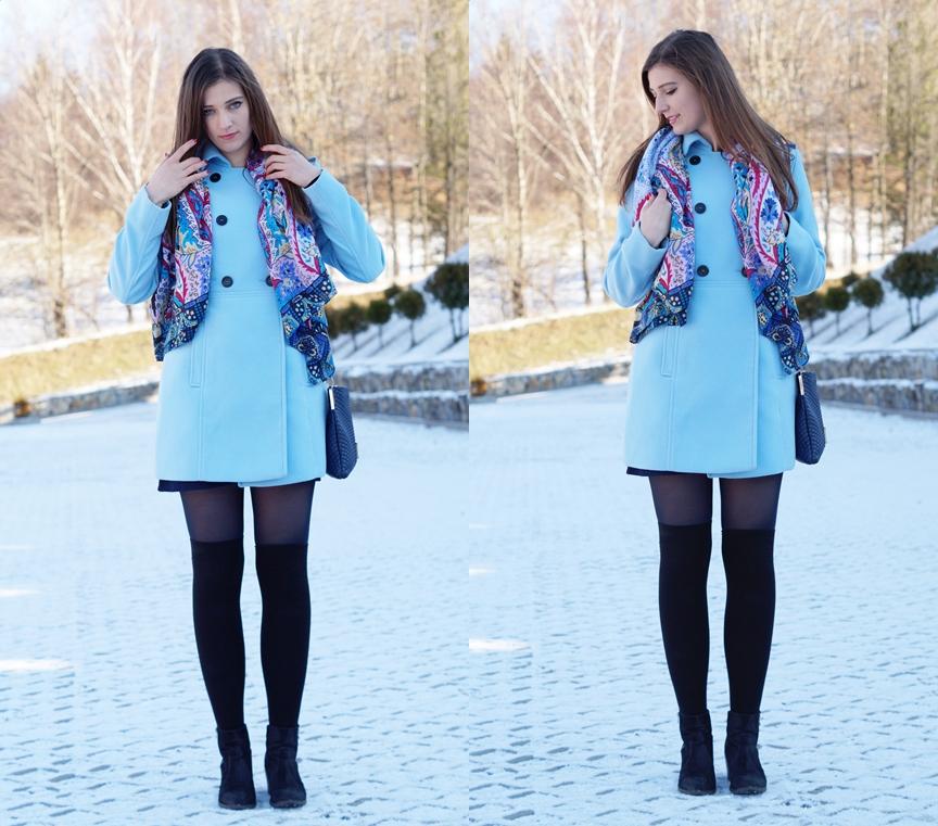 Neibieski płaszcz