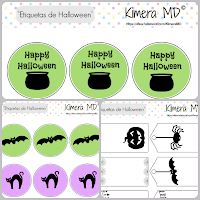 Imprimibles Etiquetas Halloween