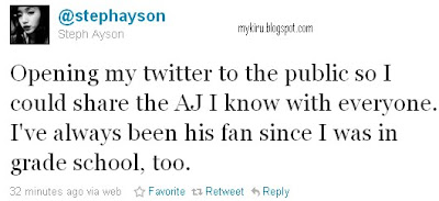 Steph Ayson Twitter