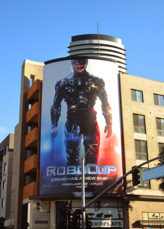 RoboCop movie remake billboard