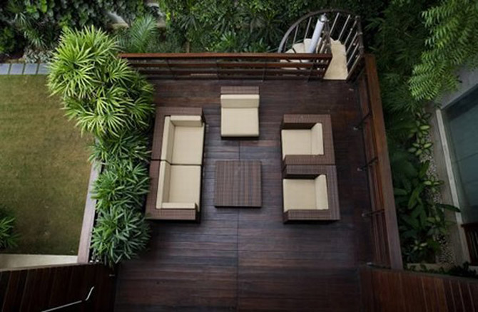 Contemporary Balcony Design