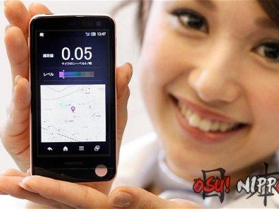 smartphone detecta radiação