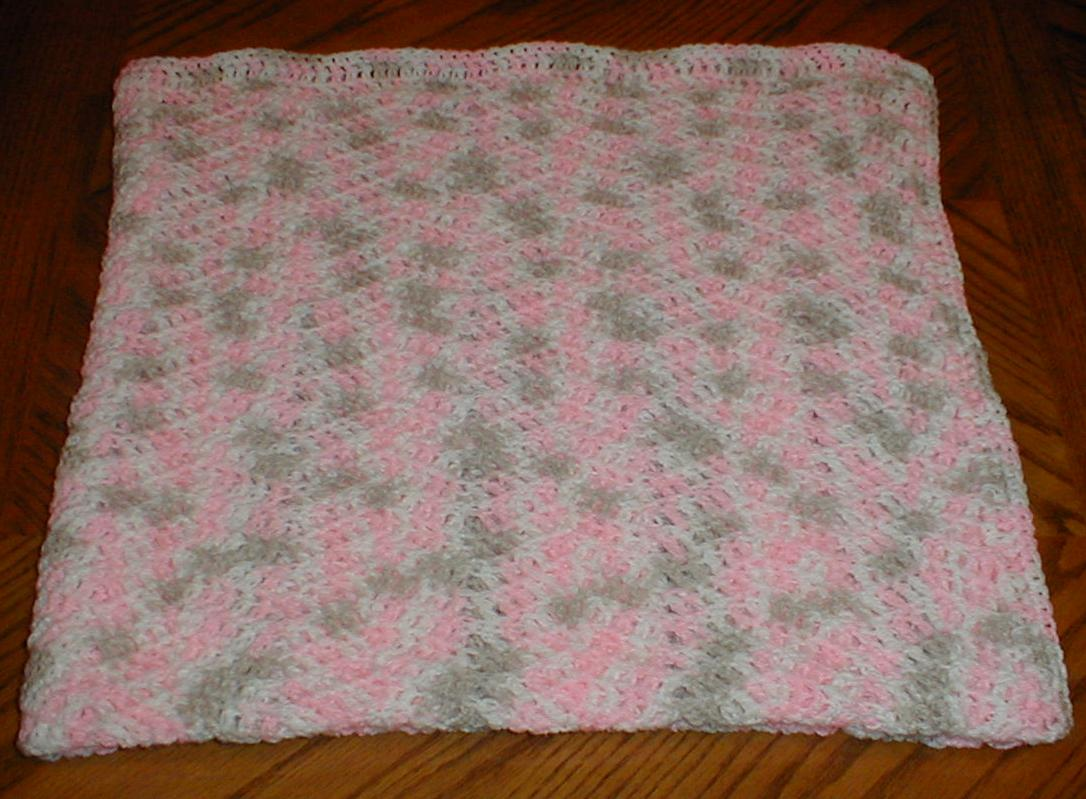 Easy Crochet Baby Blanket Patterns For Beginners : Karens Crocheted Garden of Colors: August 2013