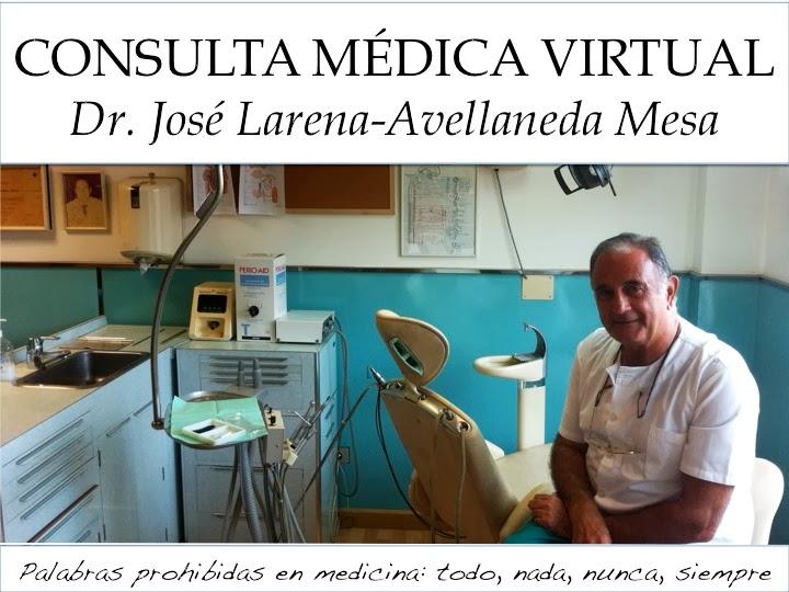 Consulta Médica Virtual del Dr. José Larena-Avellaneda Mesa