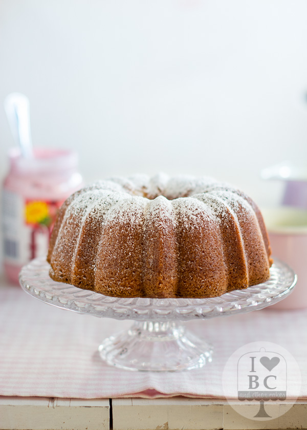 Strawberry Twinkie Bundt Cake
