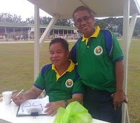 Ale Ticao and Me at Ramon Torres sports center