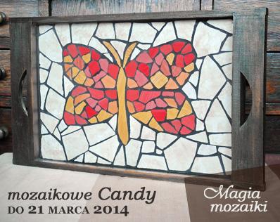 Candy w mozaikowie