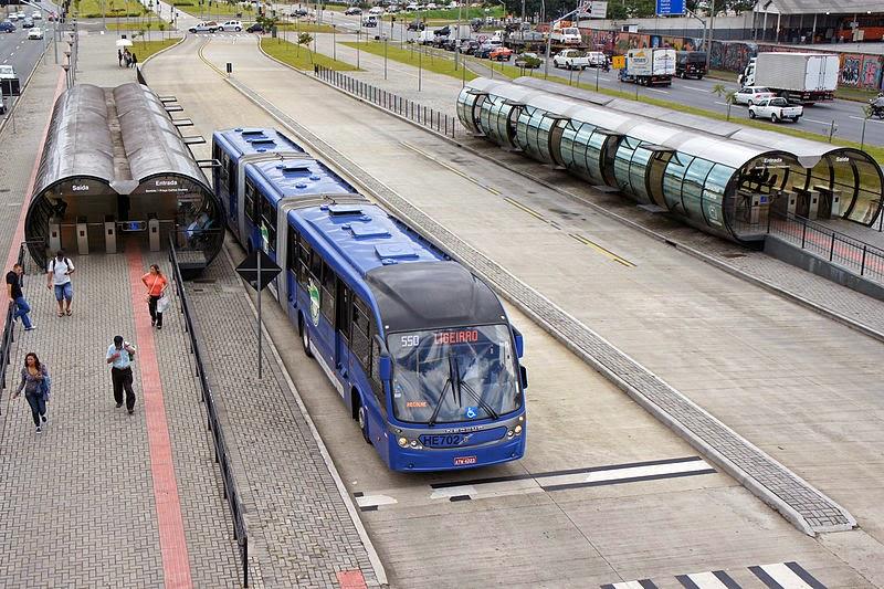 BRT Curitiba's Linha Verde, Brazil