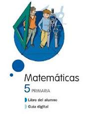 Libro digital Matemáticas 5º