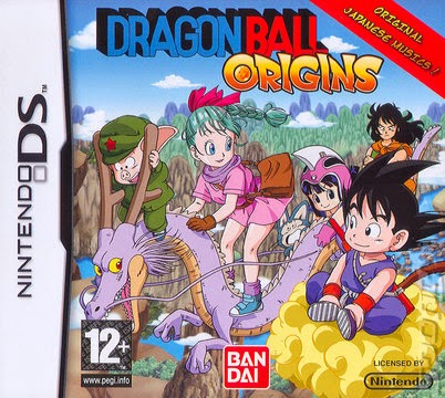 Drangon Ball Origins game nds rom cover