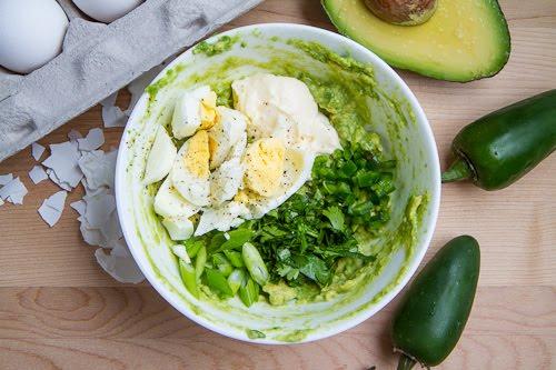Guacamole Egg Salad Sandwich