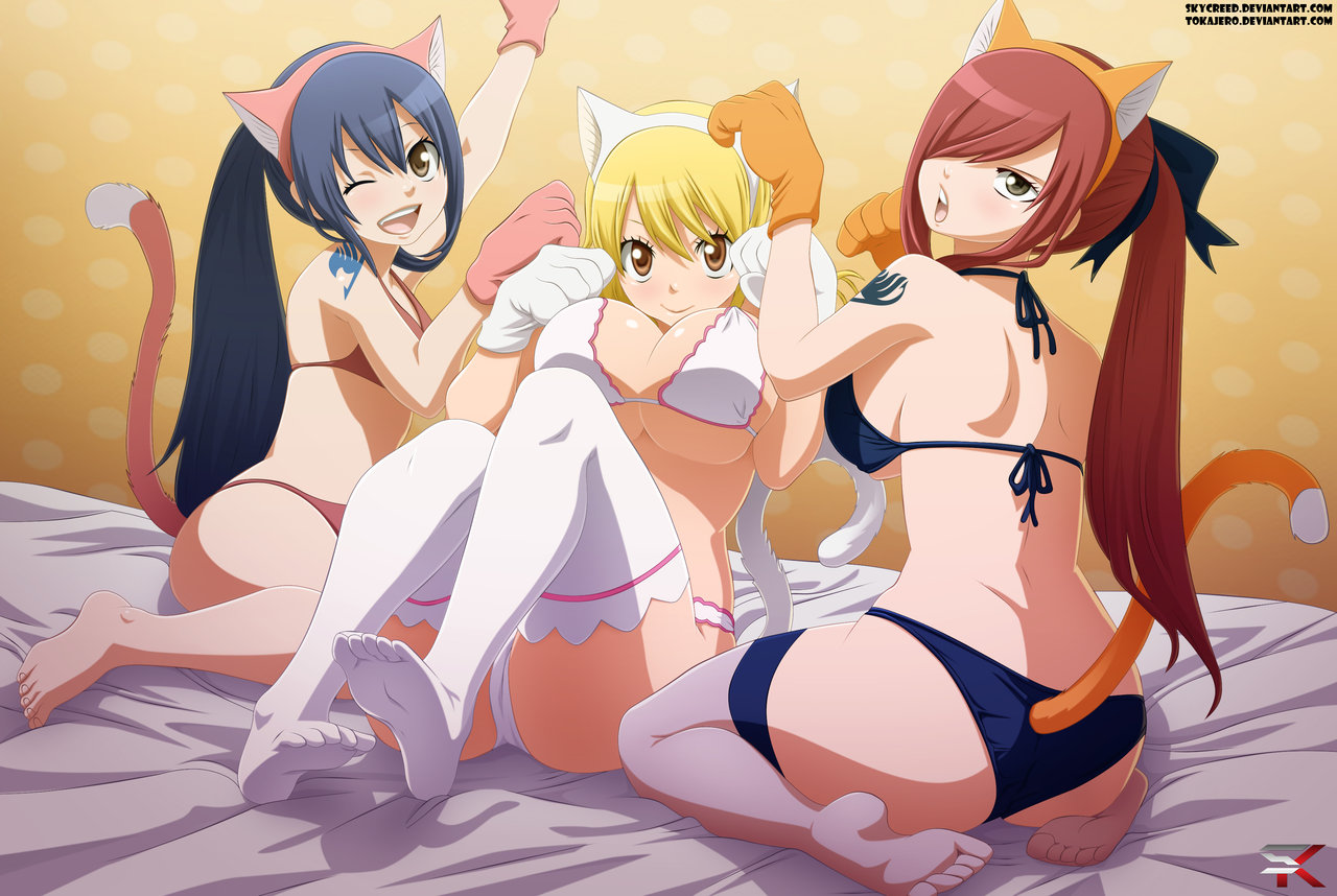 Fairy tail girls porn pornos vids