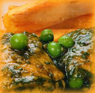 Seco de pollo con hierbas aromáticas