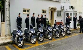 [Photos] Με αυτά τα σκούτερ οι Αστυνομικοί της Γειτονιάς θα περιπολούν στις συνοικίες -Βασικό τους όπλο το κινητό τηλέφωνο