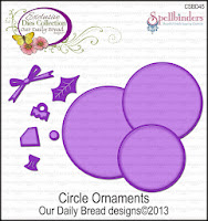 Our Daily Bread designs Custom Circle Ornaments Die Set