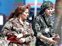 muammar algaddafi female bodyguards 32 Foto foto 40 Perawan Pengawal Pribadi Muammar Qadhafi