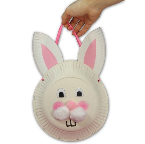 Easter Bunny Paper Plate Craft Ideas for Kids