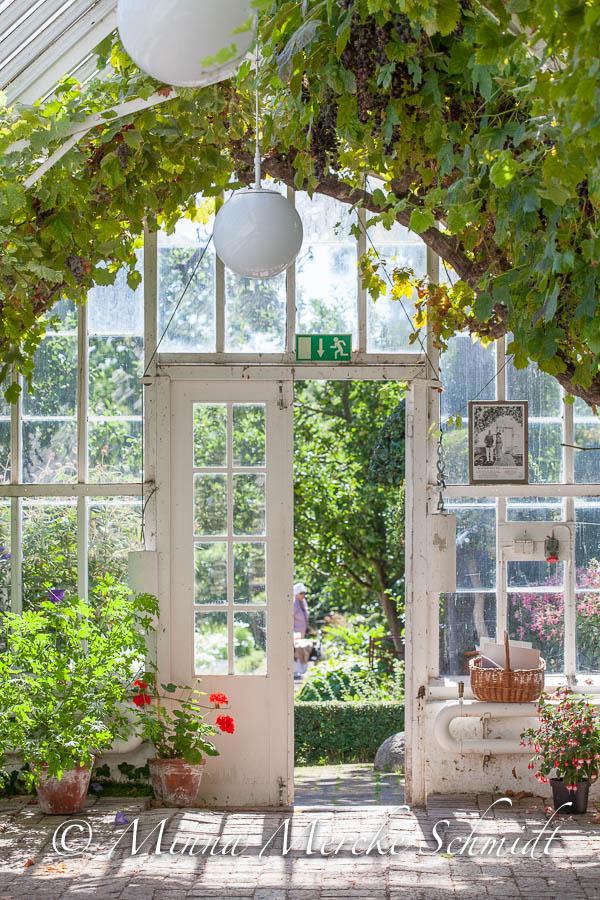Blomsterverkstad på den stora trädgårdsfesten Sofiero