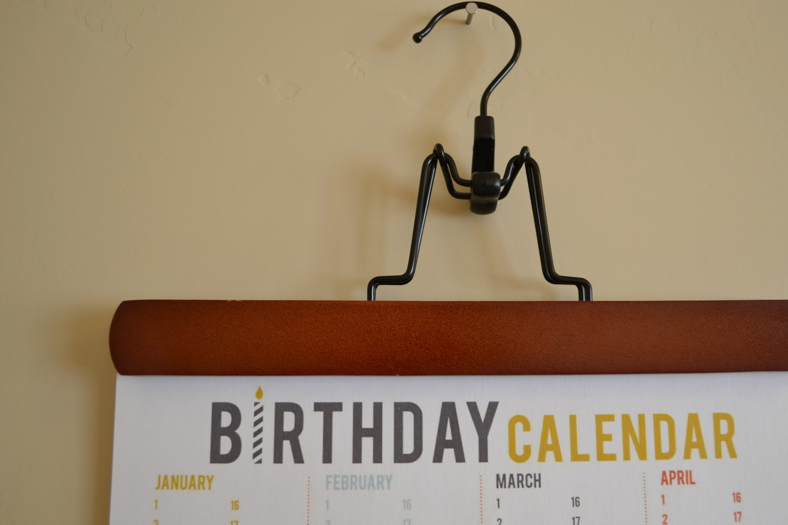 Craftaphile printable birthday calendar it will make planning ahead a cinch and hopefully i wont miss any more birthdays solutioingenieria Images