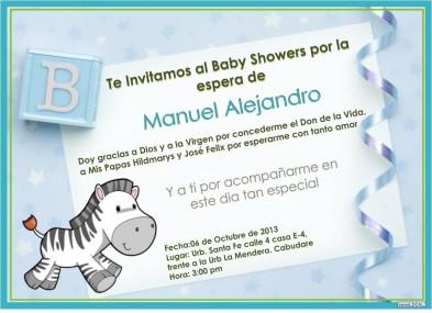 Si Ya Tienes La Fecha Y Tu Lista De Invitados Para Tu Baby Shower, Llego El  Momento De Diseñar Las Tarjetas De Invitación, Aquí Te Presentamos Varios  ...