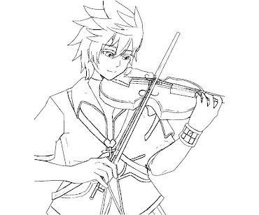 #5 Ventus Coloring Page