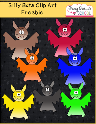 https://www.teacherspayteachers.com/Product/Silly-Bats-Clip-Art-Freebie-2159866