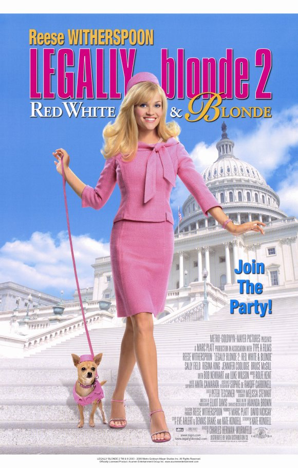 Legally Blonde 2: Red, White & Blonde full movie