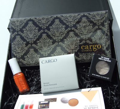 cohorted june 2015 beauty box blog review cargo essie mac