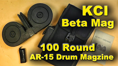 KCI Korean Drum Magazine AR15 AR-15 M16 rifle ammunition military
