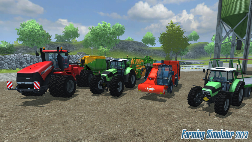 TELECHARGER Farming Simulator 2013 GRATUITEMENT