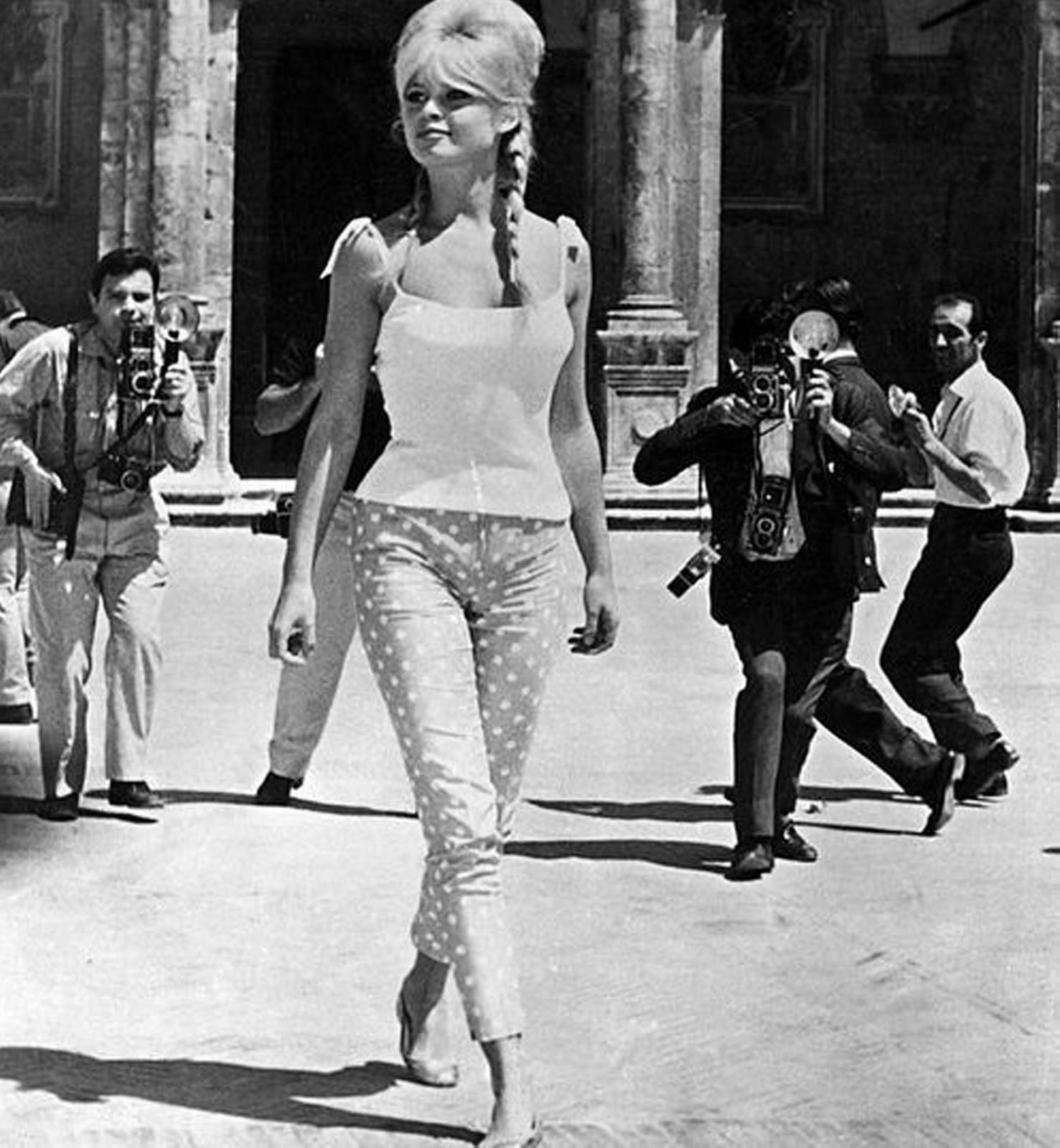 Un Jersey De Rayas Inspiraci N Brigitte Bardot