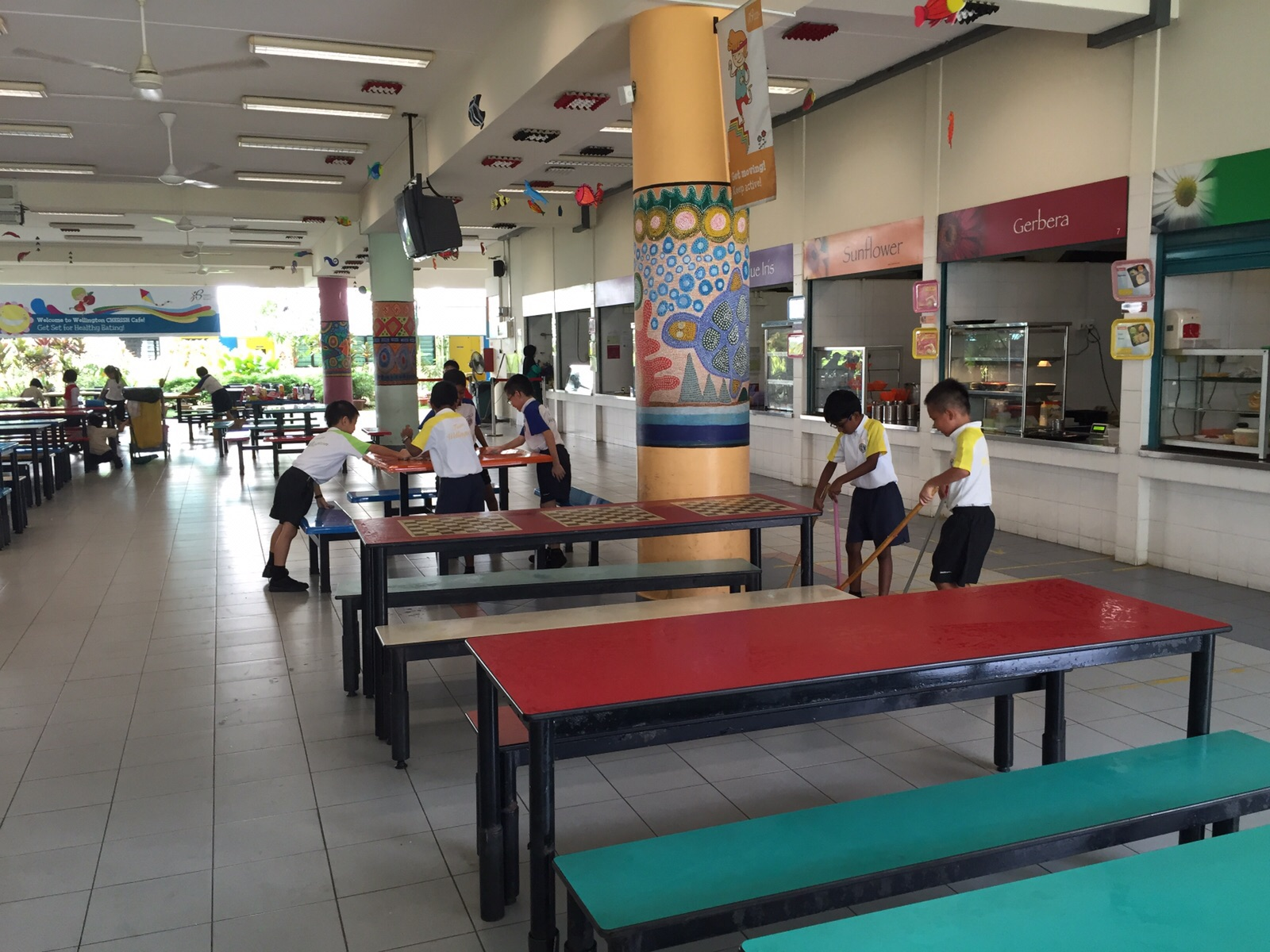 cleanliness school canteen essay Singapore — before xingnan primary school encouraged  to tidy their  classrooms and the canteen every day, she would simply leave her plate  his  daughter was slowly starting to realise the importance of cleanliness.