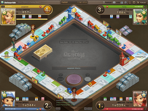 Modoo Marble Indonesia Monopoly Game 1