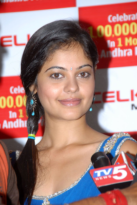 bindhu madhavi at celkon mobile successmeet, bindhu madhavi photo gallery