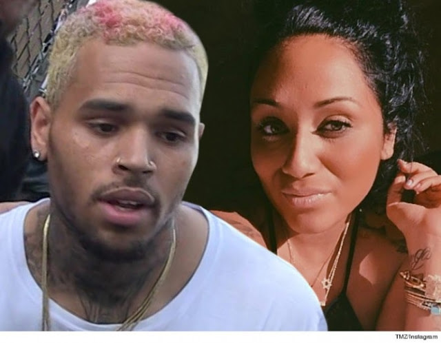 Chris Brown's Baby Mama Nia Guzman, Claims The Singer Gave Their Kid Asthma With His Weed