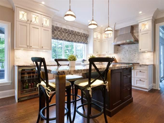 Un aire moderno en la cocina clásica   cocinas con estilo