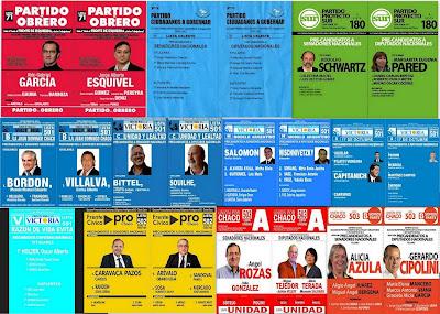 boletas de diputados y senadores nacionales