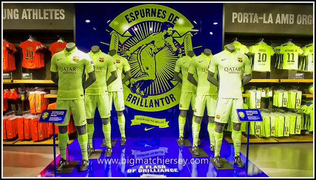 FC Barcelonas Third Kit 2015