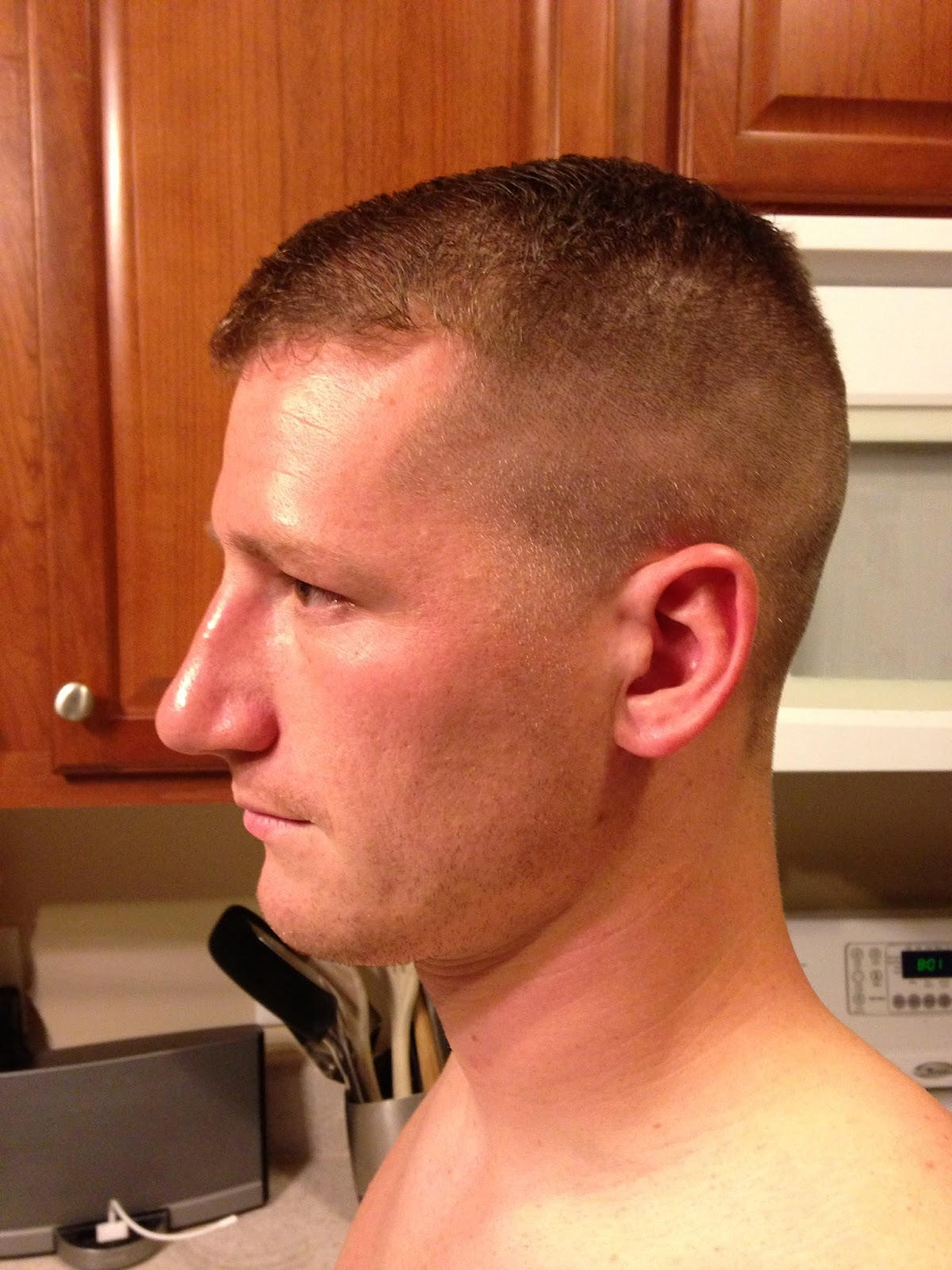 High And Tight Fade High and tight.