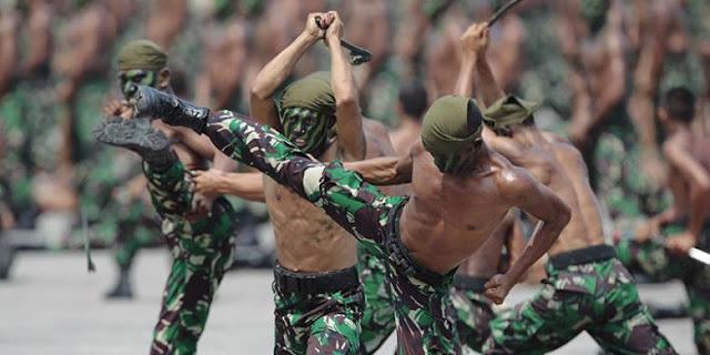 Indonesia Kekurangan Pasukan Cadangan