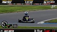 pista de kart igual a la realidad conduciendo 3