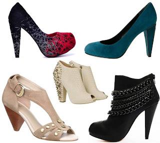 Conheça os tipos de calçados com Salto